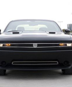 1971 for Challenger Lower bumper grille for 2011-2014 Dodge Challenger fits All models (Matte black finish)