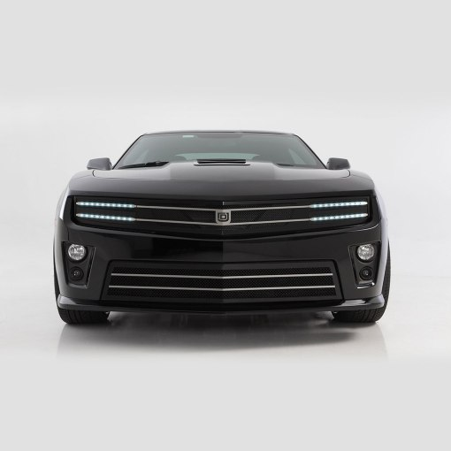 Hawkeye Primary Grille for 2010-2013 Chevrolet Camaro fits All models (Matte black finish)