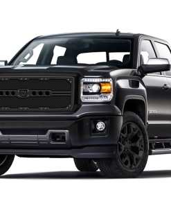 Sniper Truck Grille Primary Grille for 2014-2015 Gmc Sierra 1500 fits All models (Polished finish)