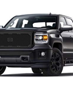 Sniper Truck Grille Primary Grille for 2007-2013 Gmc Sierra 1500 fits All Except All Terrain Models Or Vehicles Equipped With Chrome Package Grilles models (Polished finish)