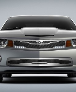 Macaro Primary Grille for 2010-2013 Chevrolet Camaro fits All models (Triple Chrome finish)