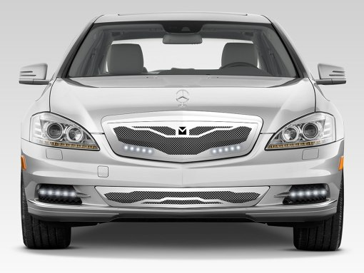 Macaro Primary Grille for 2010-2013 Mercedes Benz S550 fits All models (Polished finish)