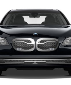Macaro Lower bumper grille for 2002-2006 Bmw 745 fits All models (Matte black finish)