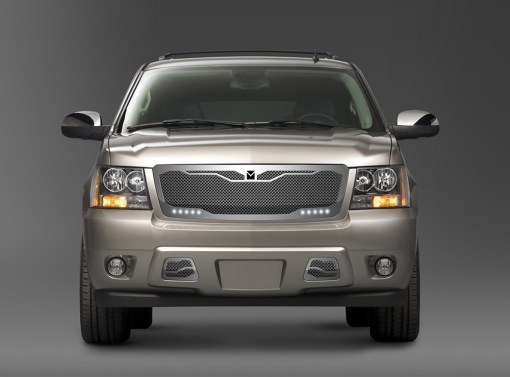 Macaro Lower bumper grille for 2007-2014 Chevrolet Tahoe/ Avalanche fits All models (Polished finish)