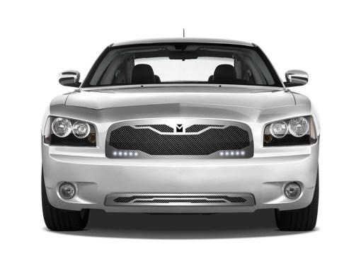 Macaro Lower bumper grille for 2005-2010 Dodge Charger fits Srt-8 Only models (Matte black finish)