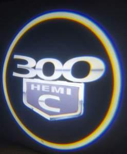 300 Hemi C Door Projector Light side