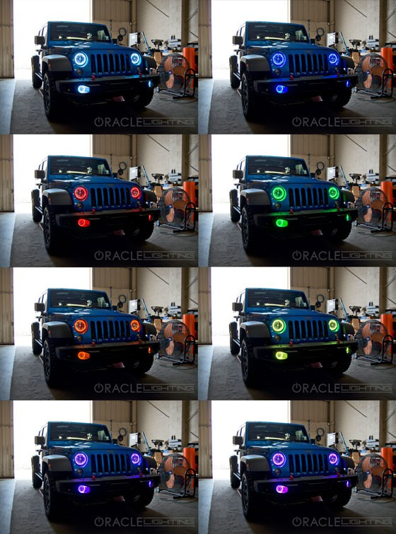 Led Backup Lights Wiring 2010 2015 Jeep Wrangler Jk Pre Assembled Led Fog Lights