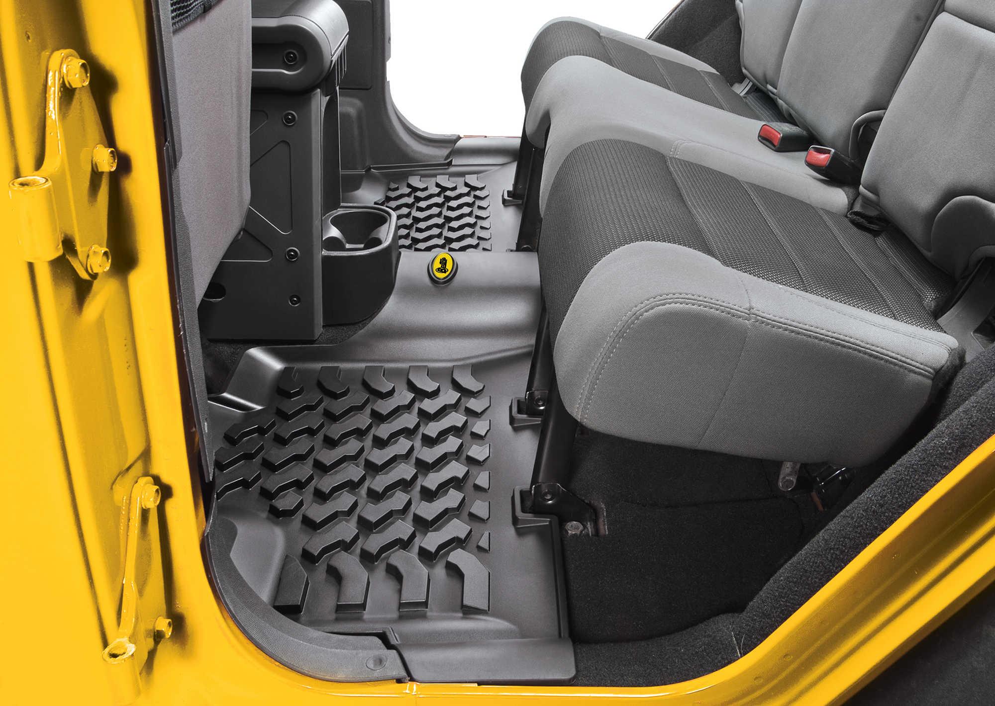 Bestop Front  Rear Floor Liners for 0716 Jeep Wrangler