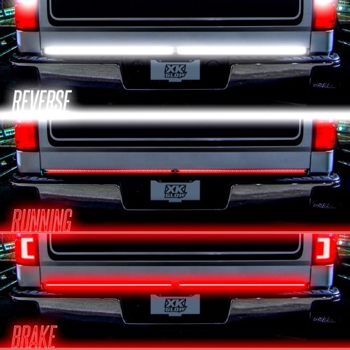 Truck Tailgate Light w: Chasing Turn Signal-4