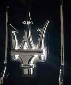 Maserati Levante Lighted Grill EMblem