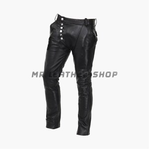 Genuine Black leather Pants