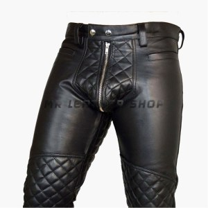 Mens Leather Hot Pants
