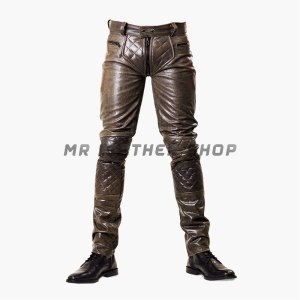 mr b leather pants