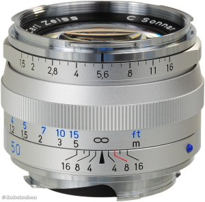 Zeiss C Sonnar 50mm f1.5 review