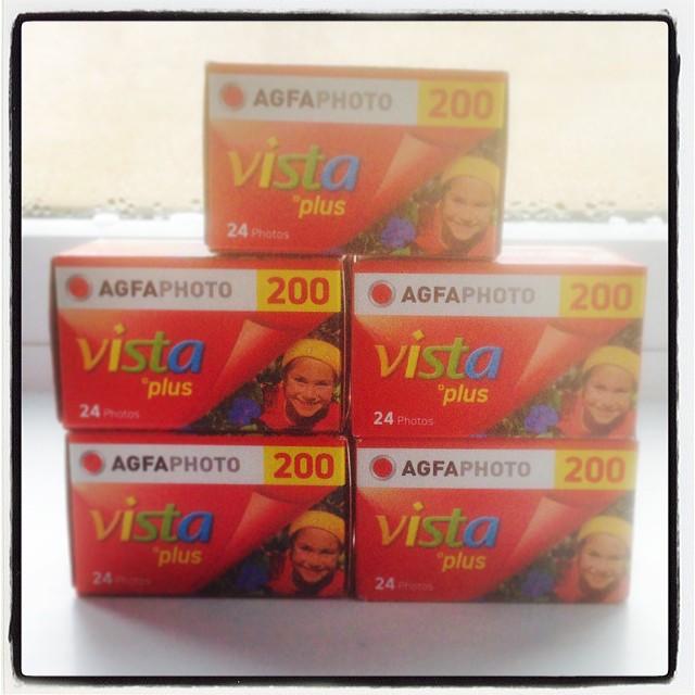 AGFA Vista 200 Review