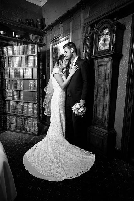Elegant Black and White Wedding Photography - leica wedding B&W