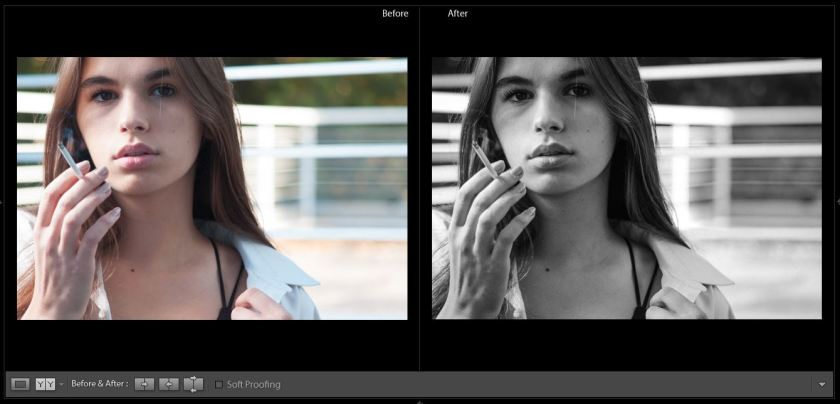 Leica M8 Lightroom Preset - B&W