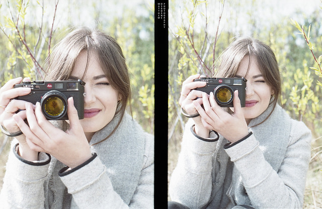 Leica M6 review - girl with leica m6