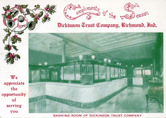 Dickinson Trust Christmas ad