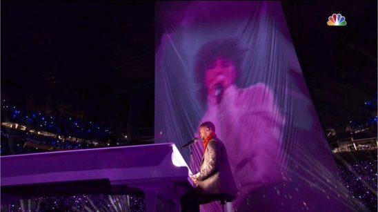 Justin Timberlake 超級盃 tributes Prince