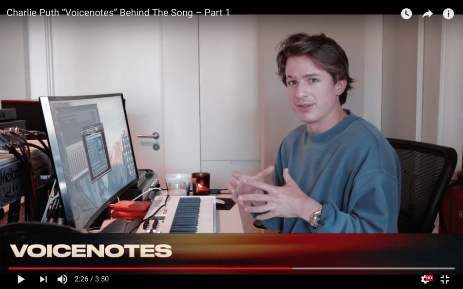 2018-05-05-下午8.40.33 Charlie Puth Voicenotes 專輯歌曲創作思路歷程