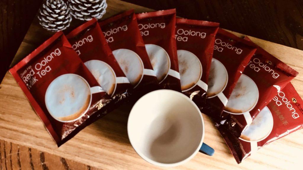 金品茗茶 貴妃紅の烏龍純奶茶 奶茶控必喝100%純奶粉新品! 2