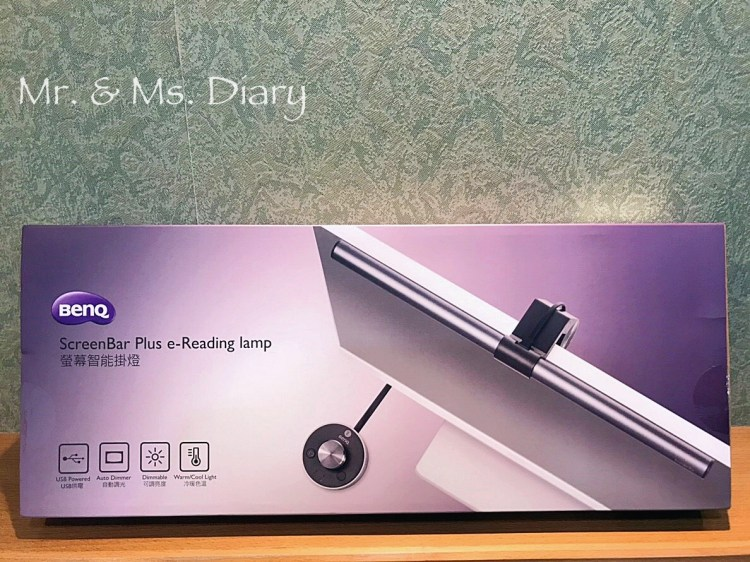 辦公室護眼必備推薦,WiT ScreenBar Plus 螢幕智能旋鈕版掛燈