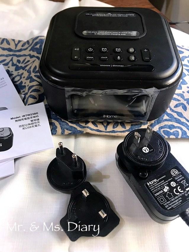 iHome 無線充電藍牙喇叭推薦!居家必備,音質溫暖清晰,雙鬧鐘設計,有效切換生活節奏 3