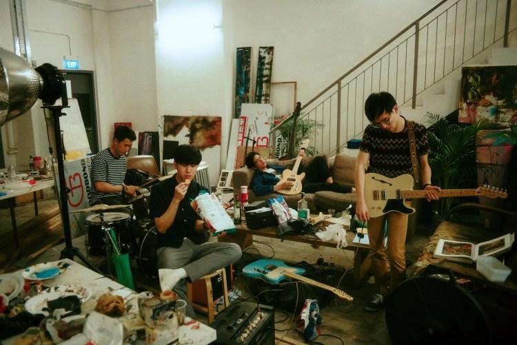 專訪/ M1LDL1FE,新加坡矚目樂團!多變曲風,盡情搖滾 2