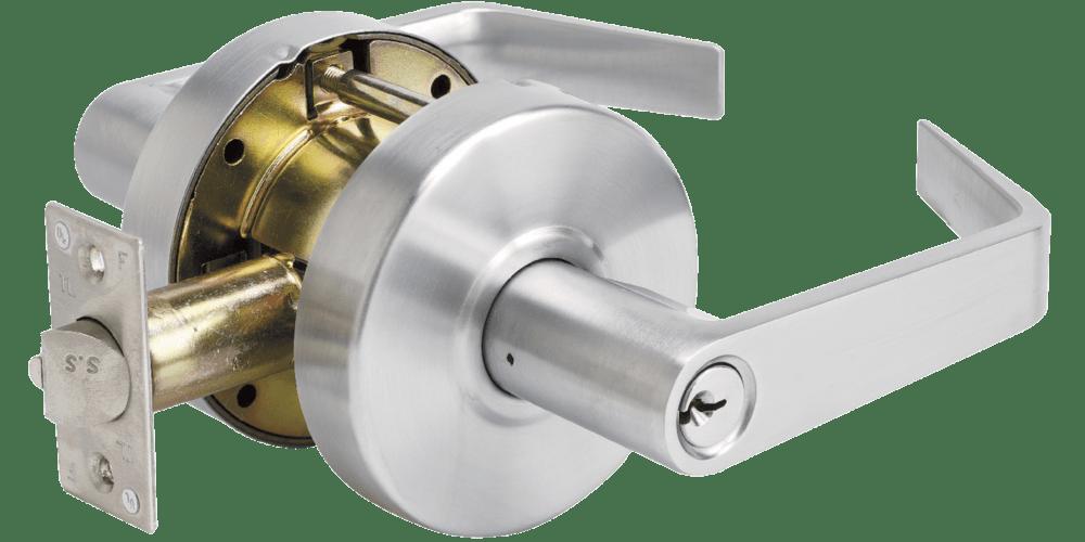 Commercial grade master lever lock