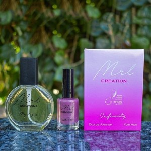 Creations: Ladies 50ml plus 30ml & a FREE Nail Polish