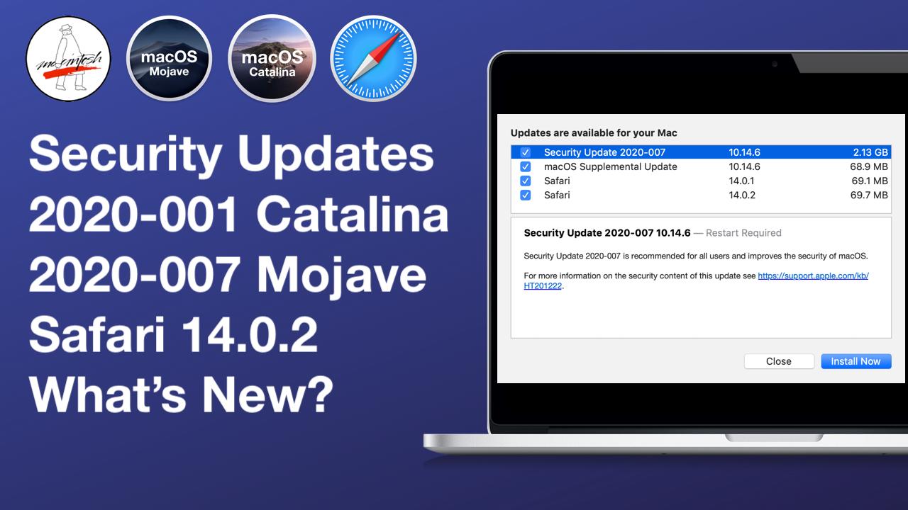 Apple Update Mojave