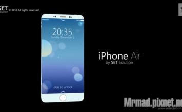 新一代iPhone概念影片iPhone Air如羽毛般的輕薄
