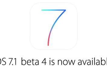 [iOS7 beta]蘋果推出iOS7.1 beta4,目前不支援JB