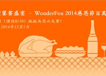 [限時免費]WonderFox 2014感恩節百萬大限免活動開跑