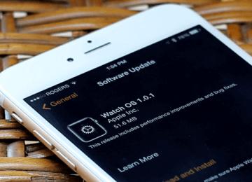 全球首個Apple Watch OS韌體更新1.0.1來了!