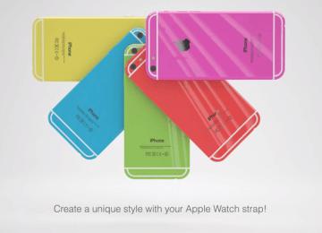 iPhone6c就是長這樣?來看看國外設計師概念影片和洩密照