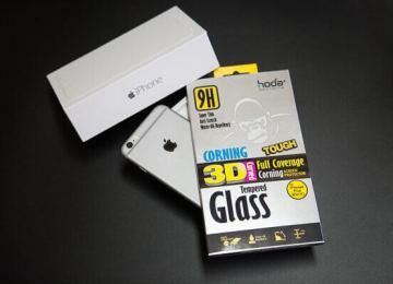 [開箱]iPhone6/6Plus用戶首選滿版保護貼!hoda康寧3D曲面滿版玻璃貼