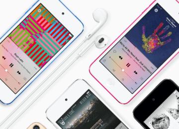[桌布分享]新一代iPod Touch五種顏色桌布主題下載