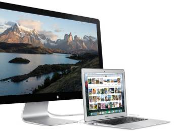 Apple準備推出5K螢幕!宣布停產Thunderbolt Display