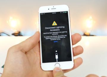 iOS10最新防水警告功能!能偵測Lightning是否有進水