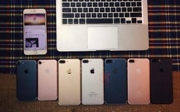 iPhone7 模型機五種顏色一起曝光!林志穎準備秀iPhone7了嗎?