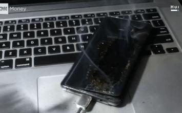 三星中國版 Galaxy Note 7 燃燒爆炸!連Macbook Pro也遭受波擊
