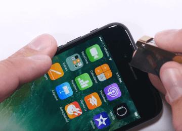 iPhone 7 進行螢幕與機身耐刮、火烤嚴厲測試!發現彎曲有防水缺陷