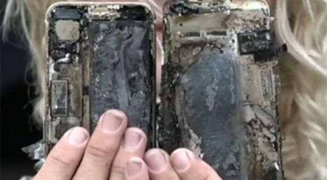 iphone-7-car-fire-burning