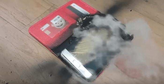 Samsung召回無效!新版 Galaxy Note 7 電池依舊會燃燒爆炸 - 瘋先生