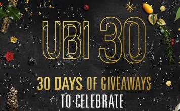 [限免]Ubisoft舉辦30週年聖誕節慶!30天每日登入免費獲得正版遊戲