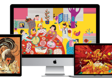 [桌布下載]Apple歡慶農曆春節「新年製造」!特別提供多款新年桌布免費下載