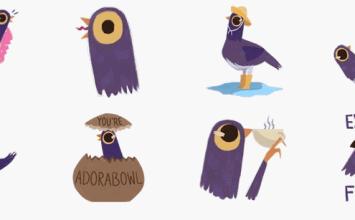 帶你下載新一代超紅Facebook神圖「垃圾鴿」貼圖!與瞭解狂搖頭貼圖含意