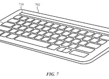 蘋果專利:Touch Bar 將移植至 Magic Keyboard 無線藍芽鍵盤上